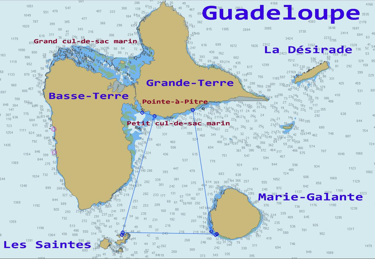 01. La Guadeloupe et ses îles