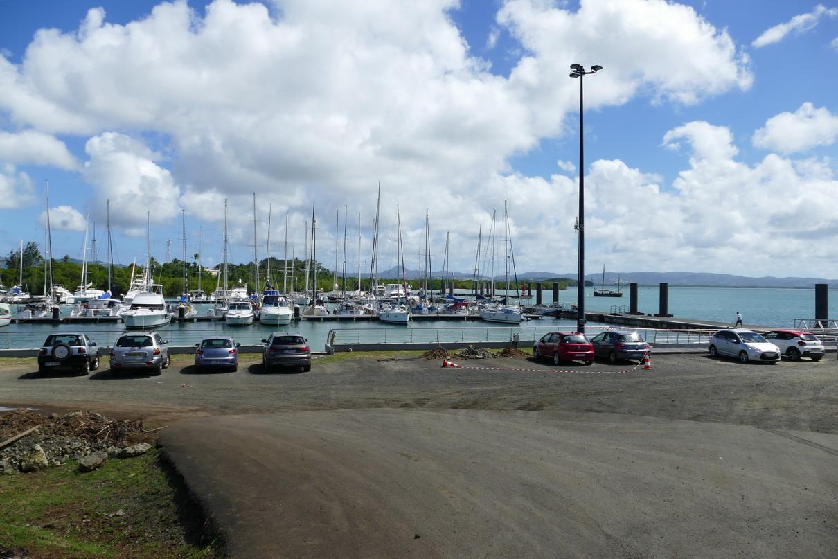 02. Fort-de-France, la marina z'Abricots, où nous sommes restés quelques jours