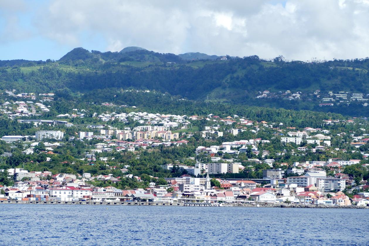 02. La Guadeloupe ; la ville de Basse-Terre, l'ancienne capitale fondée par les Français