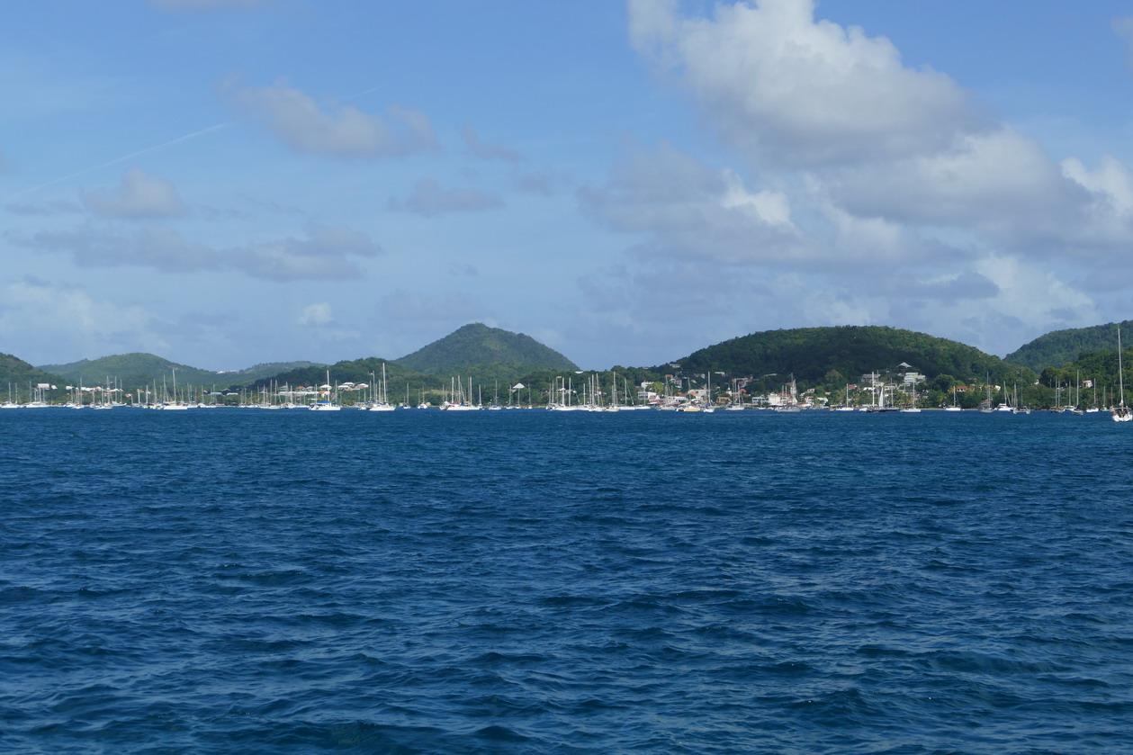 03. La Martinique, le mouillage de St Anne