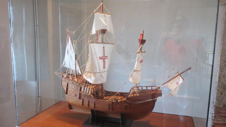 03. SdB, musée de la marine, le premier vaisseau à aborder ce rivage en l'an 1500
