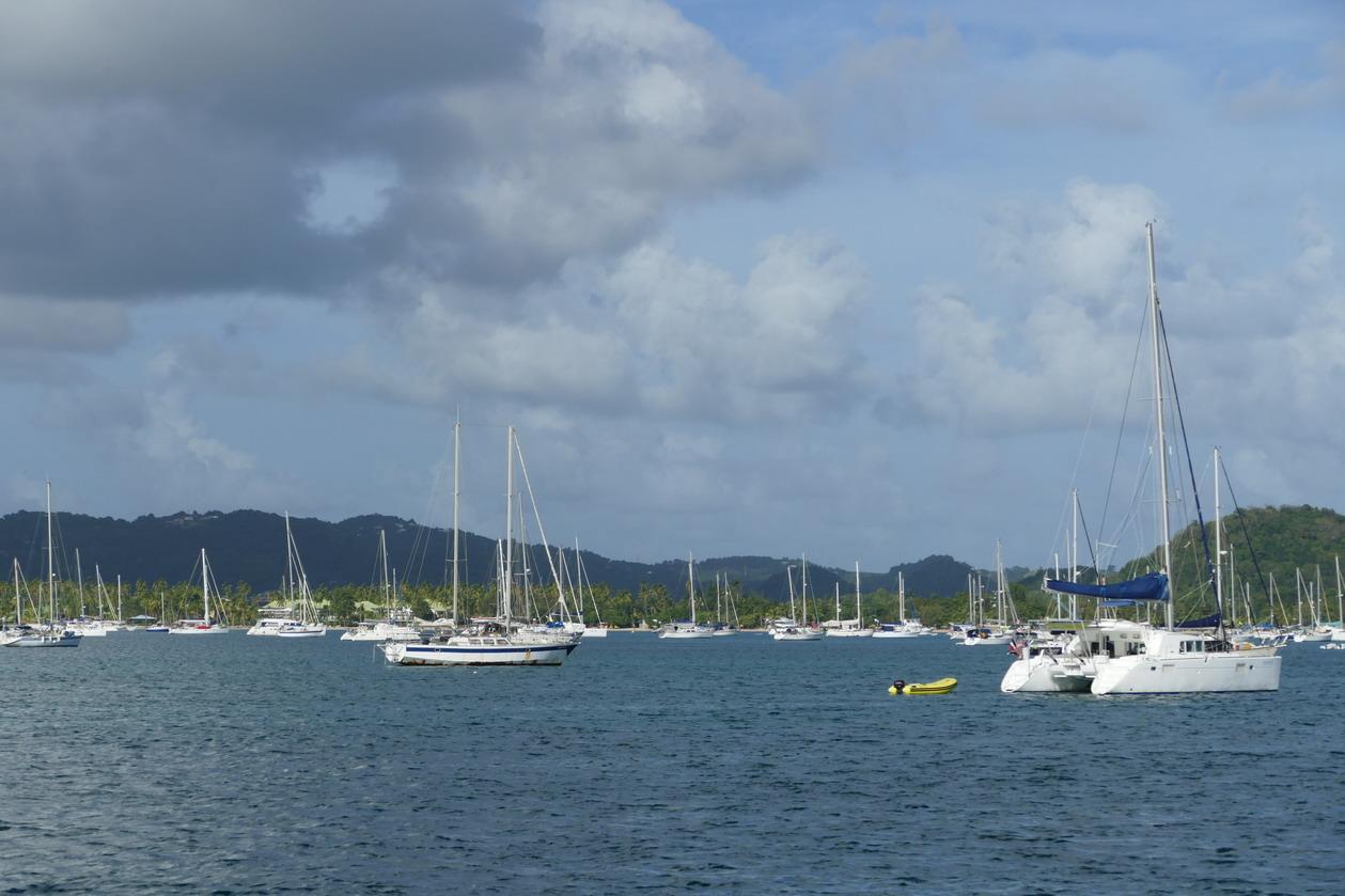 04. La Martinique, le mouillage de St Anne