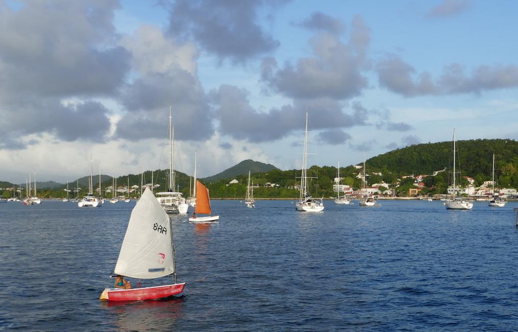 05. La Martinique, le mouillage de St Anne