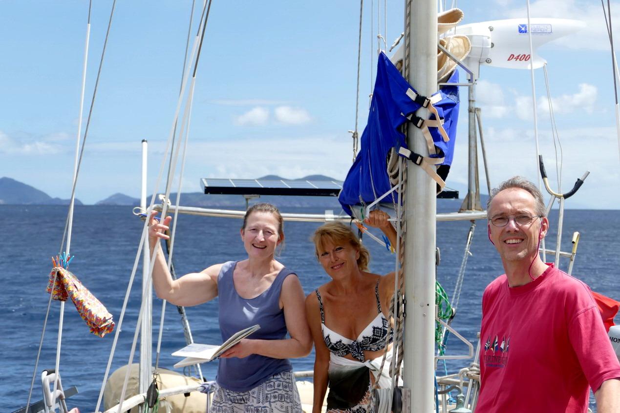 07. La Guadeloupe ; en route vers Deshaies