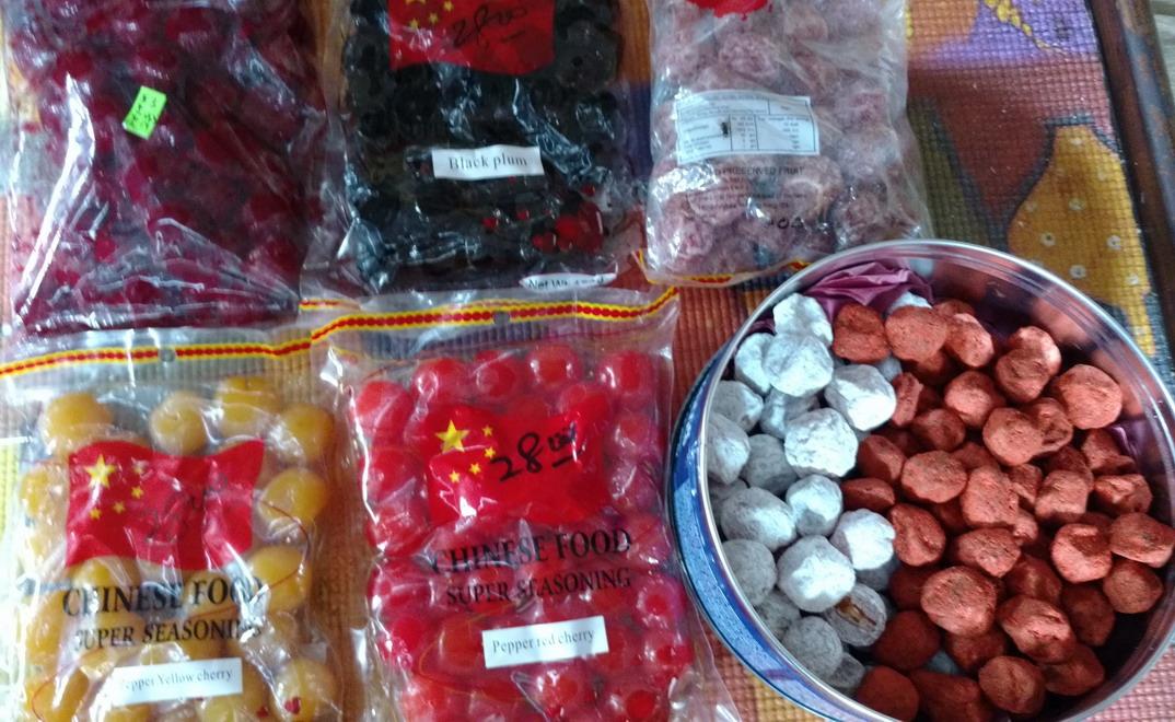 10. Des fruits séchés en bonbons