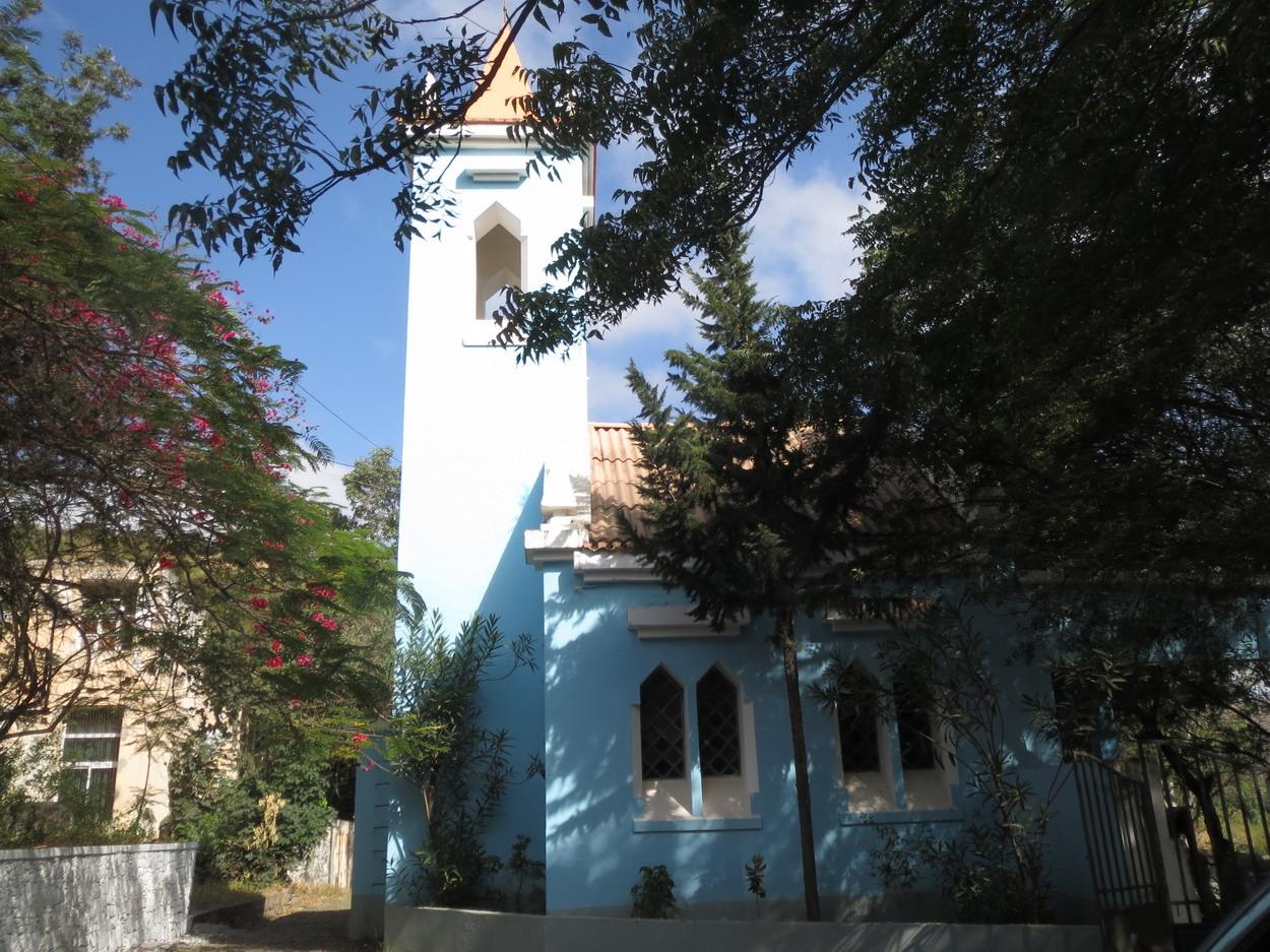 12. Santiago, l'église en plein air d'Assomada