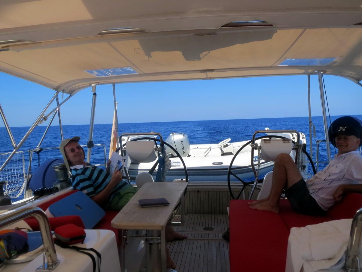 12. Traversée vers Ibiza on ne peut plus calme