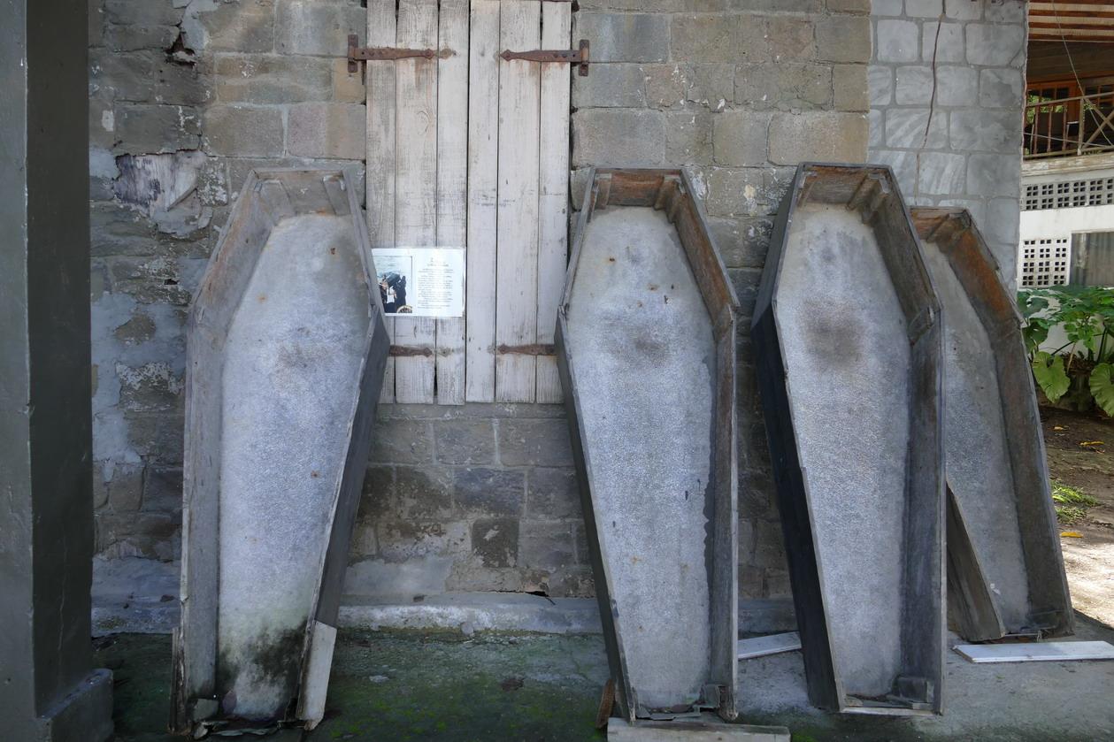 12. Wallilabou, reliques du tournage de Pirate des Caraïbes
