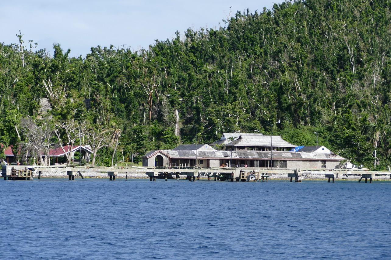 13. La Dominique ; le cyclone Maria a laissé des traces