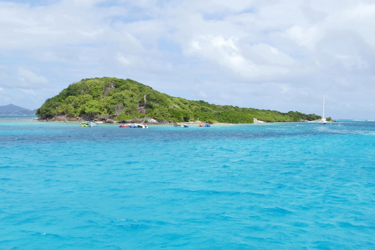 13. Les Tobago cays, Petit Rameau