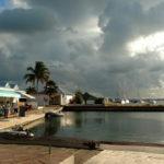 13. St Martin, Marigot, le fond du lagon et ses restaurants