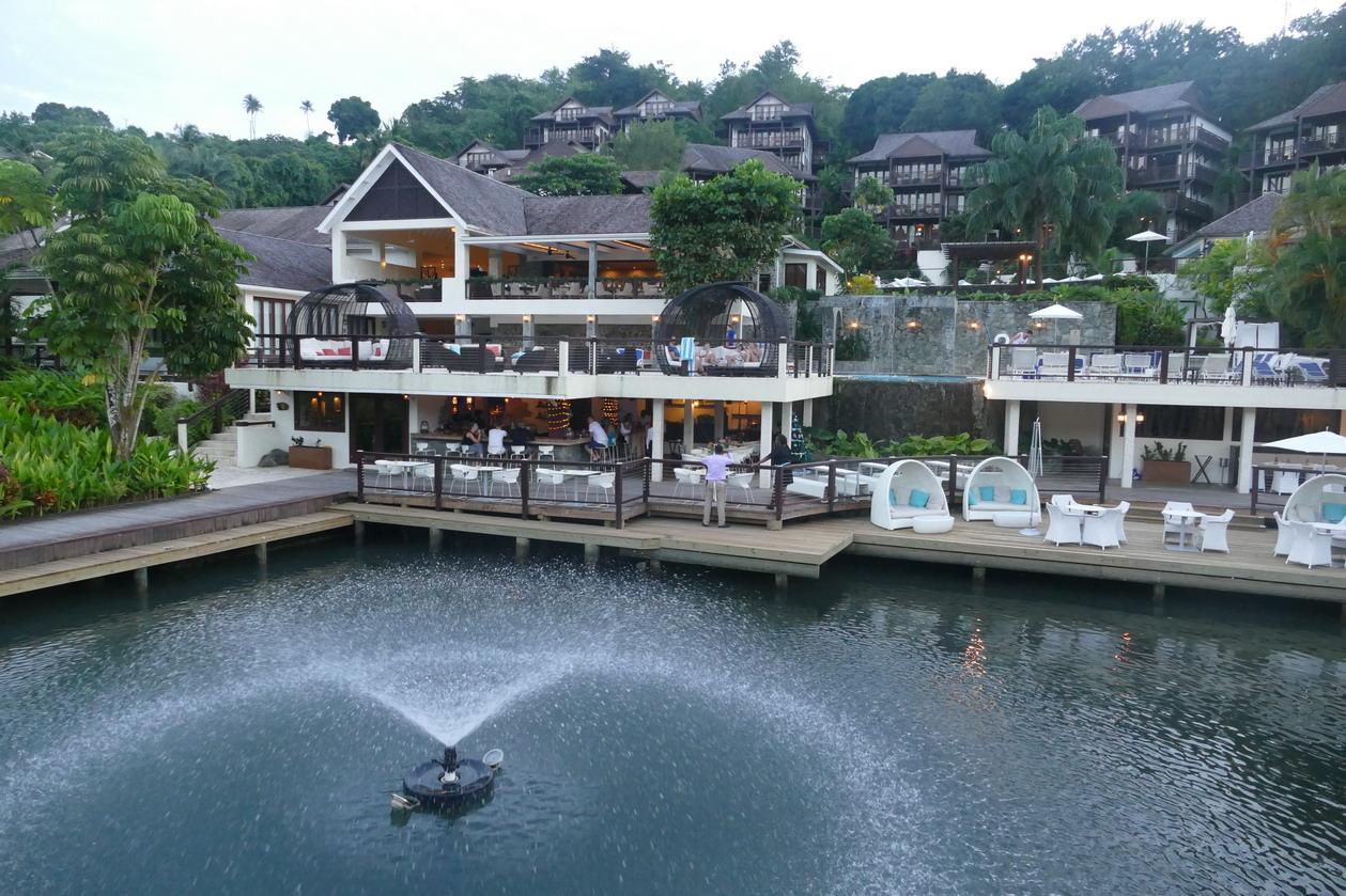 14. Ste Lucie, Marigot harbour, le Resort