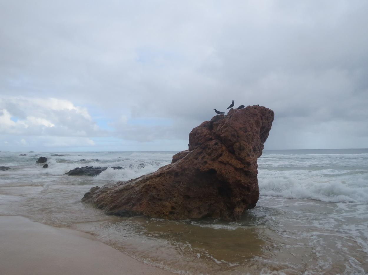 15. Praia de Conceiçao sous la pluie