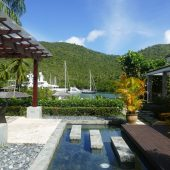 15. Ste Lucie, Marigot harbour, le Resort
