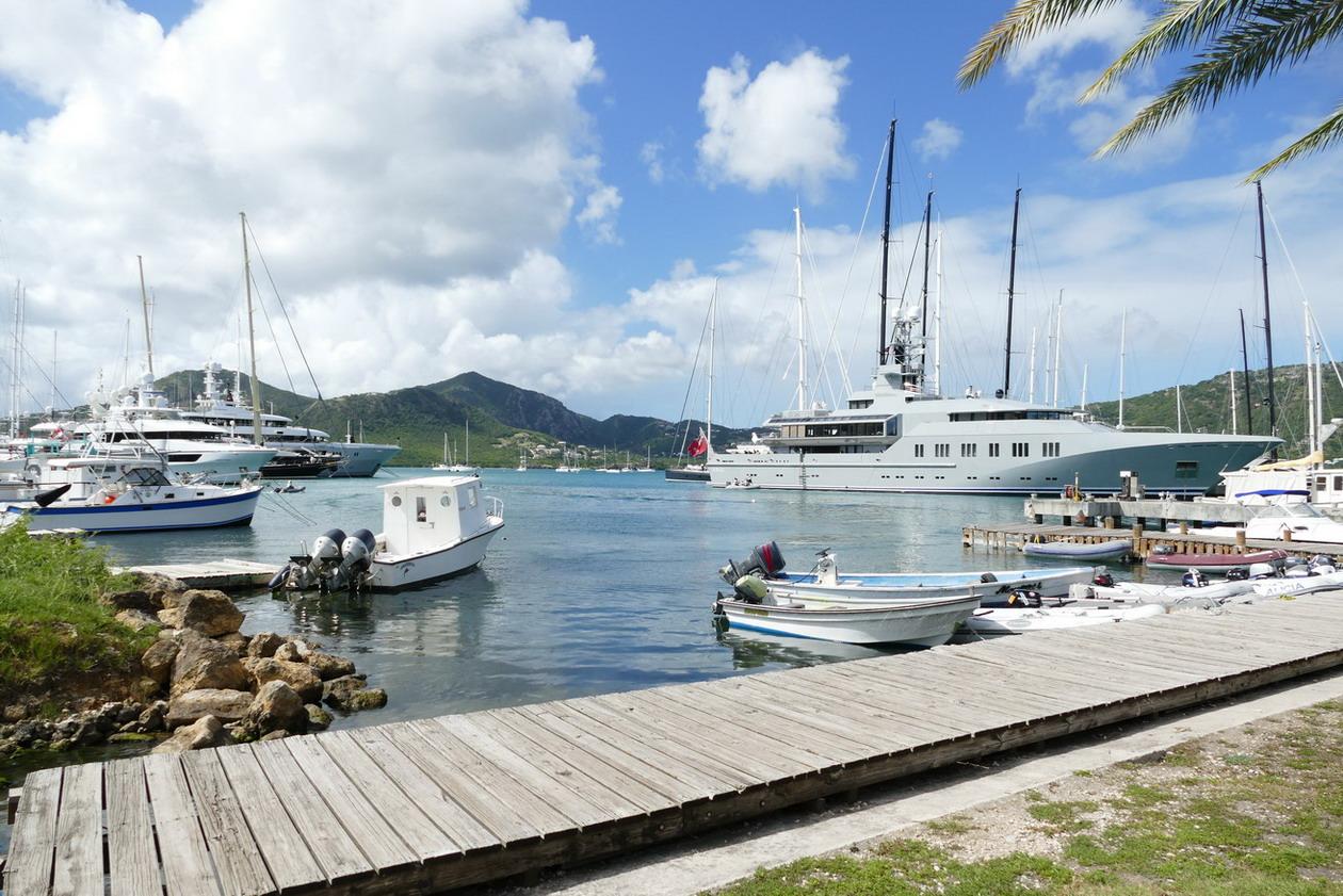 16. Antigua, English harbour, Nelson's dockyard