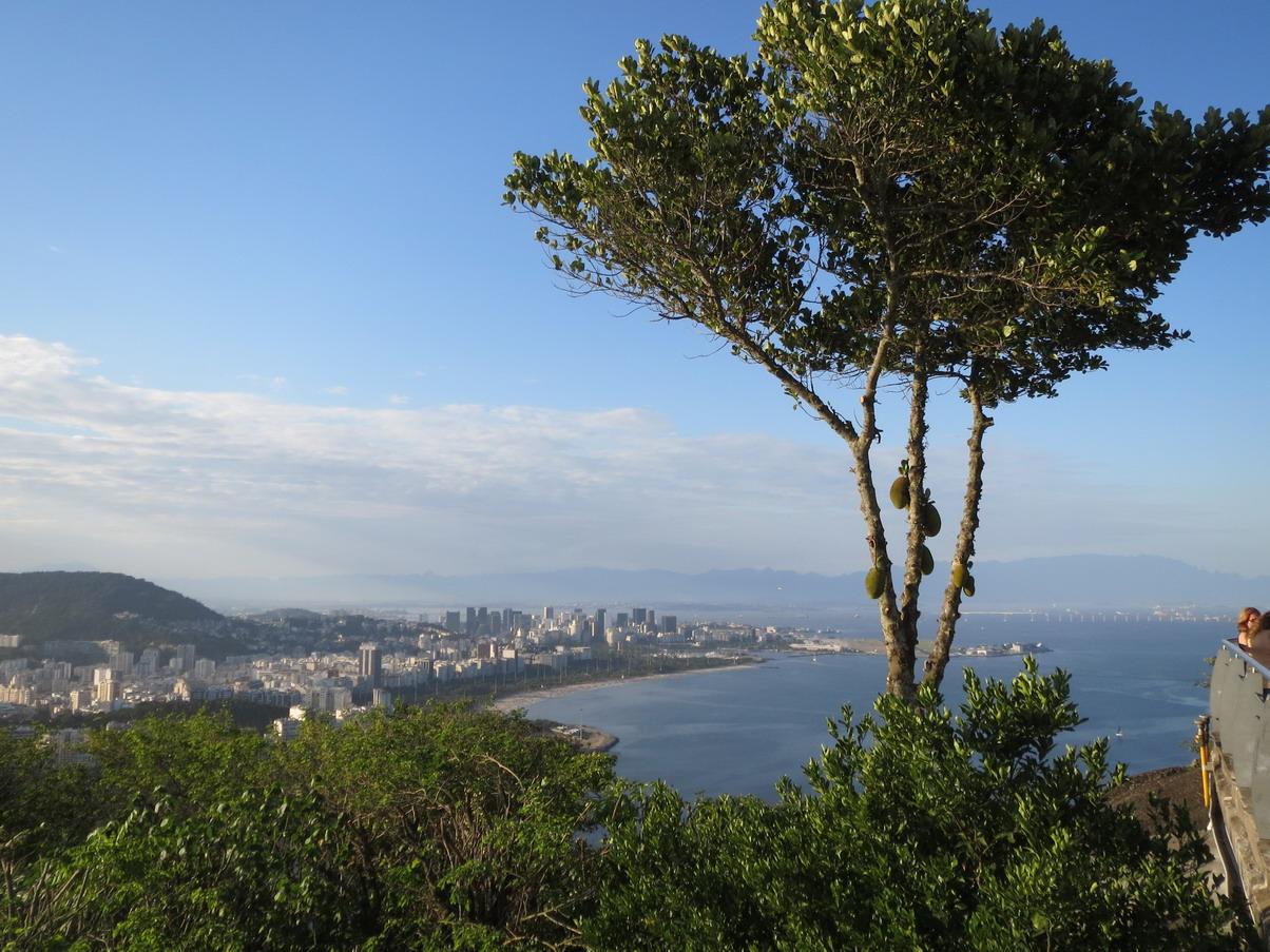 16. Du morro d'Urca vue sur Rio et la baie de Guanabara