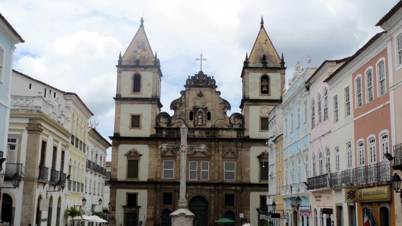 17. SdB, centre historique, le Pelourinho, l'église Sao Francisco