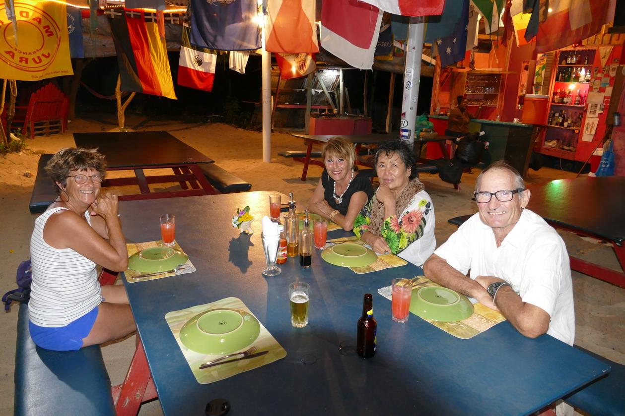 18. Retrouvailles avec Lay My et Louis rencontrés aux Canaries et au Brésil