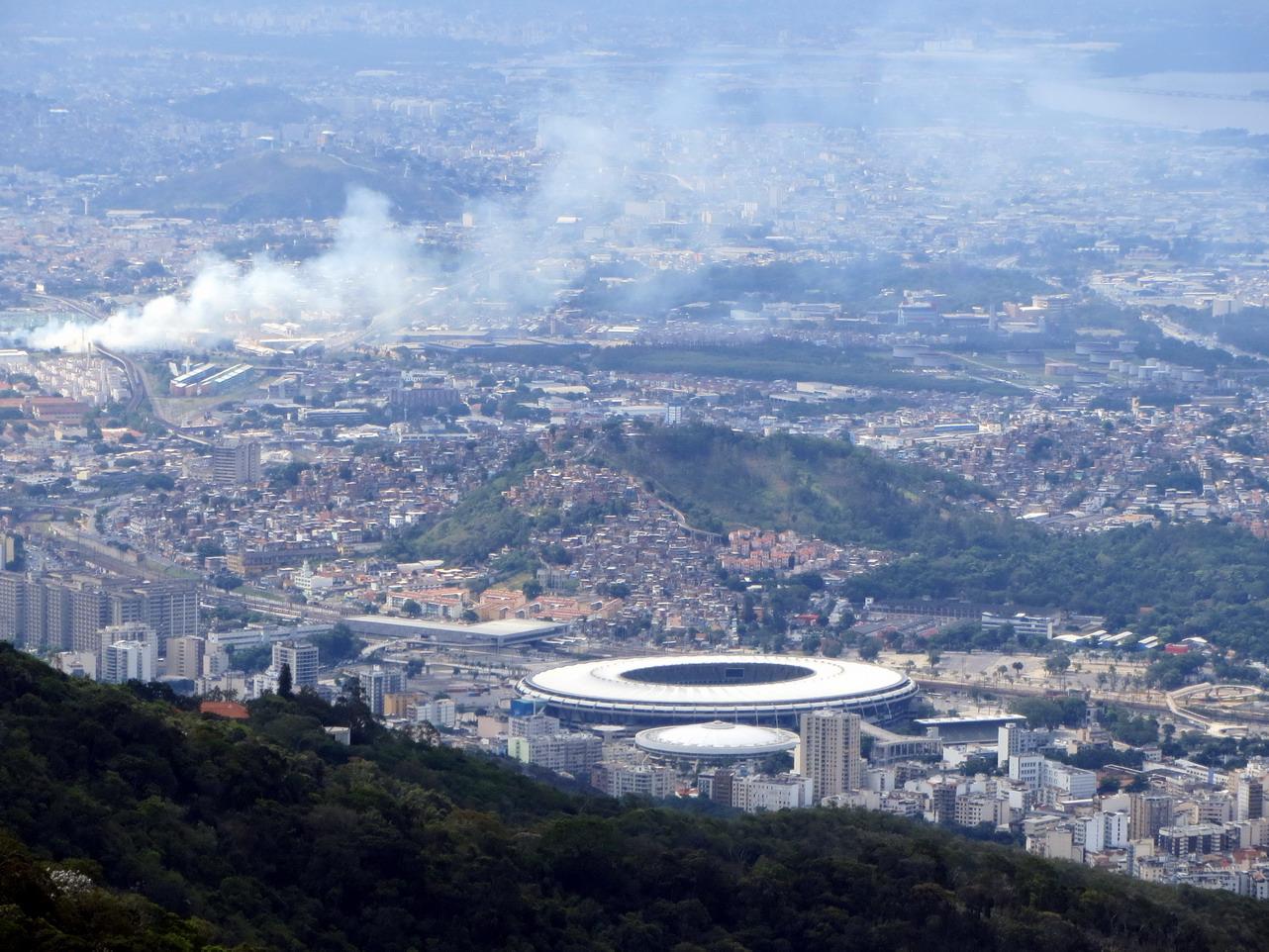 19. Le fameux stade de Maracana, qui peut accueillir 100 000 spectateurs