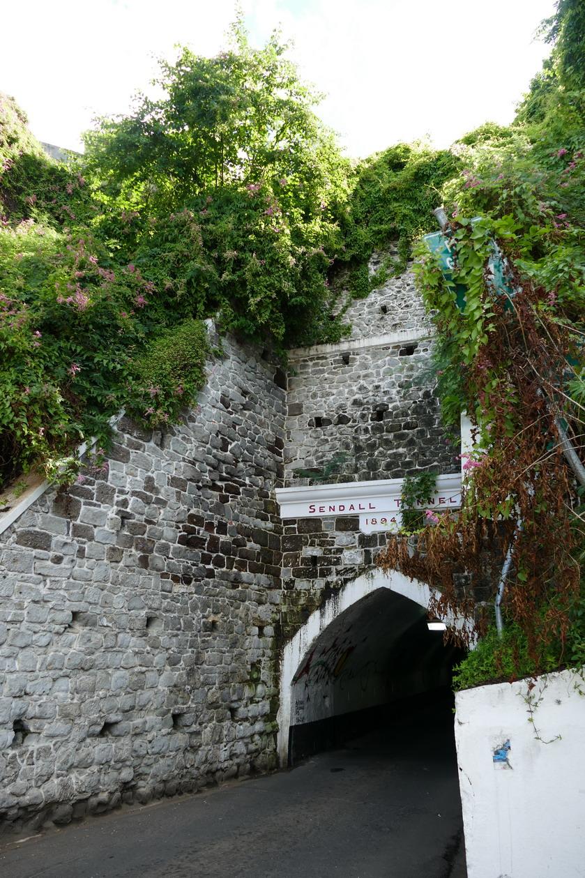 20. St George's, le tunnel de Sendal