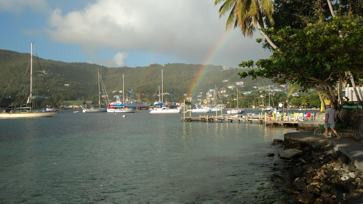 21. Bequia, Admiralty bay