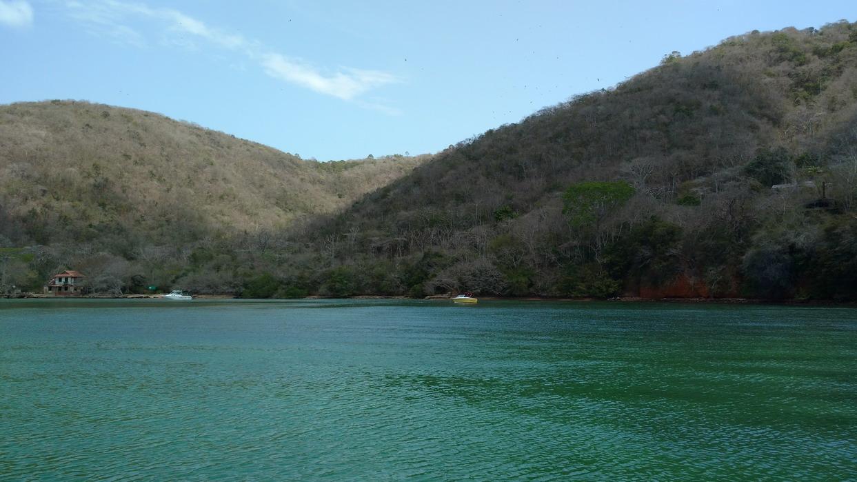 21. Chacachacare bay dans l'île du même nom