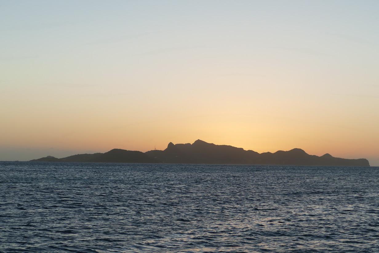 21. Les Tobago cays, vue sur Union island