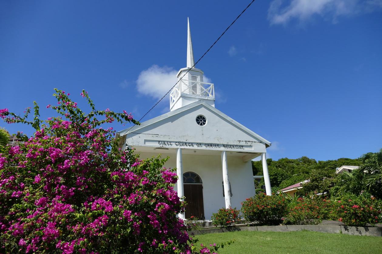 22. Eglise pour une religion inconnue, sauf des Américains...