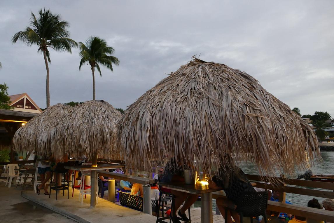 23. La Martinique, Ste Anne, la Dunette, restaurant de bord de mer