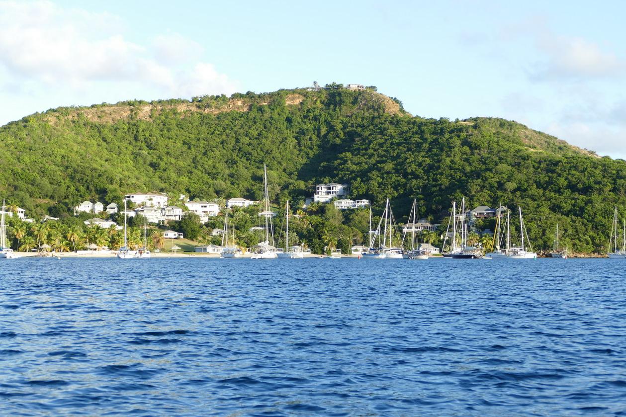 24. Antigua, English harbour, Freemans bay, où l'on peut encore mouiller