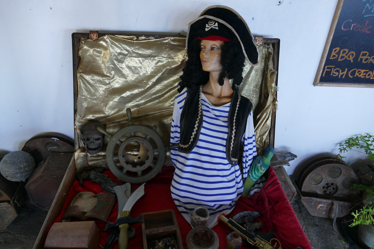 24. Wallilabou, reliques du tournage de Pirate des Caraïbes