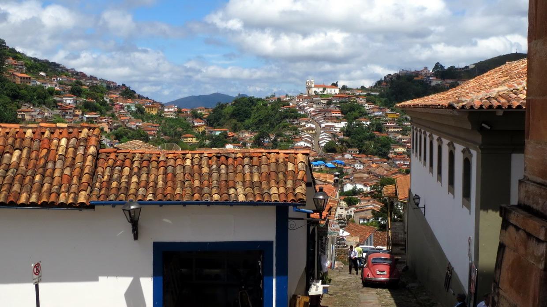 25. Couleurs du soir à Ouro Preto