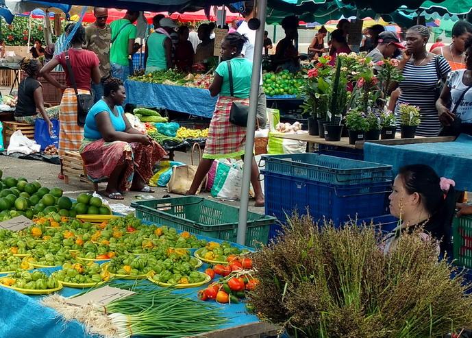 25. St Laurent du Maroni, le marché (le mercredi et le samedi)