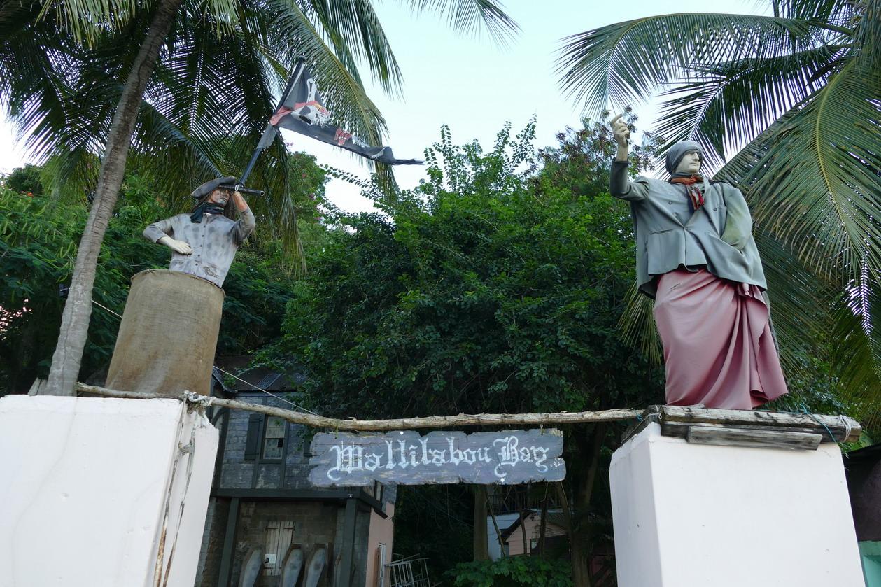 26. Wallilabou, reliques du tournage de Pirate des Caraïbes