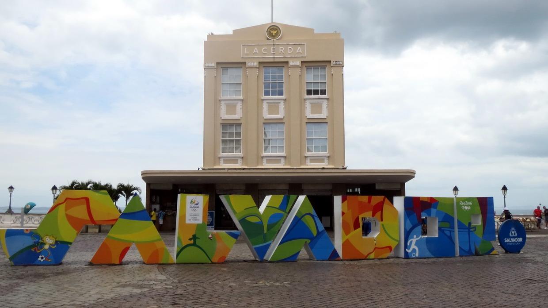 28. SdB, centre historique, Lacerda, l'ascenseur qui conduit vers la ville basse