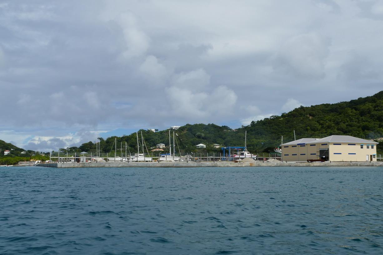 29. La nouvelle marina et la nouvelle gare maritime