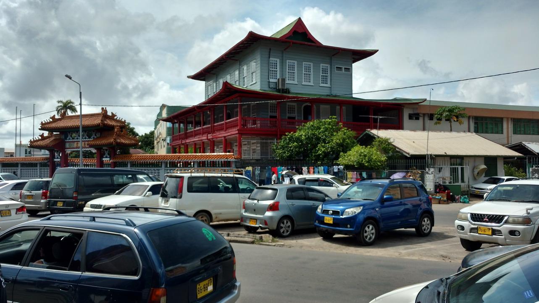 29. Paramaribo, pagodes chinoises