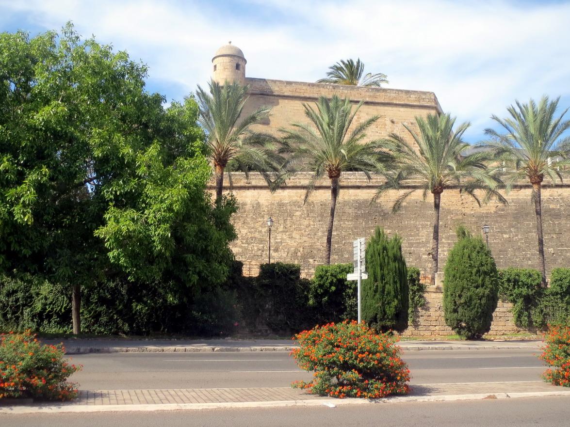3. Palma, les remparts
