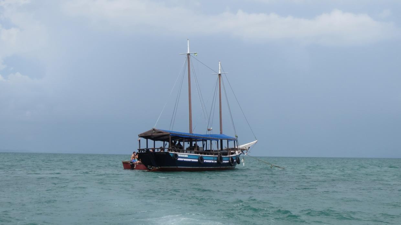 30. Baia de Todos os Santos, notre bateau d'un jour
