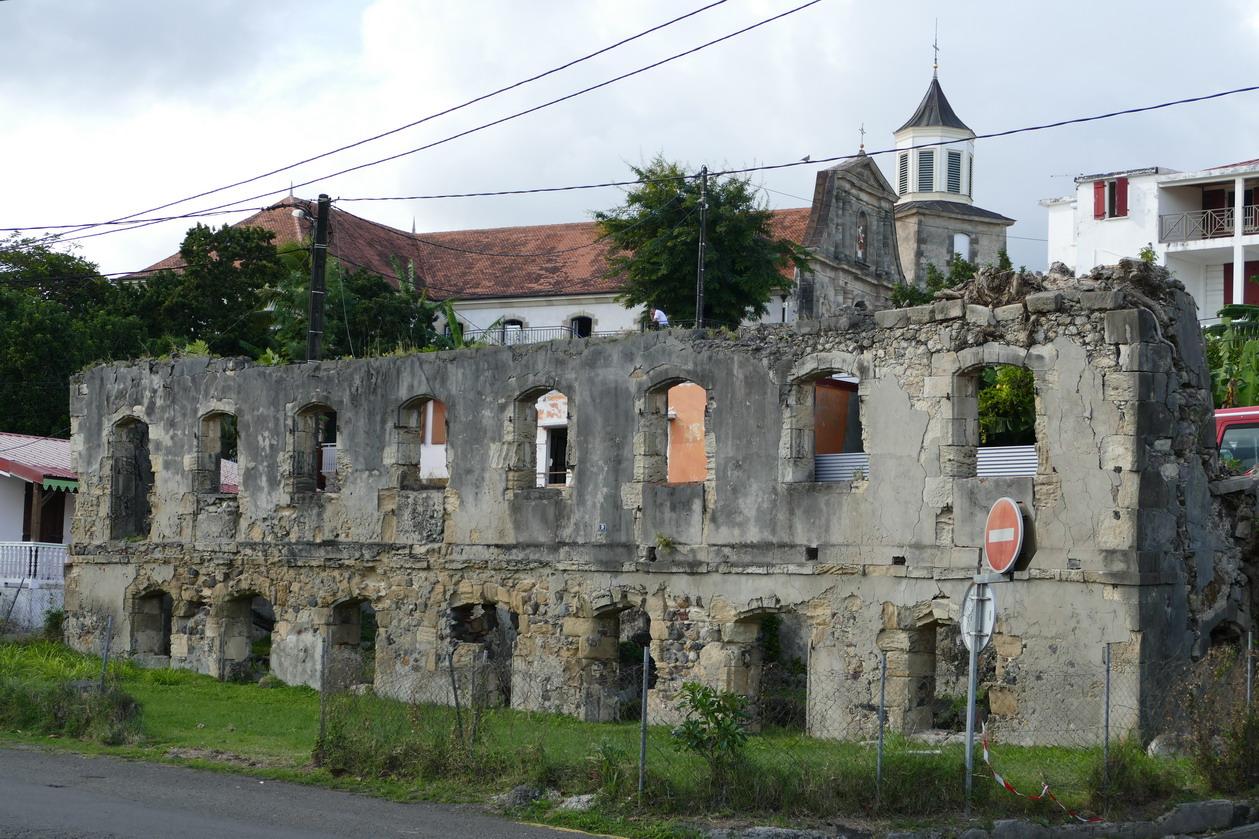 31. La Martinique, le Marin, l'ancienne caserne de pompiers