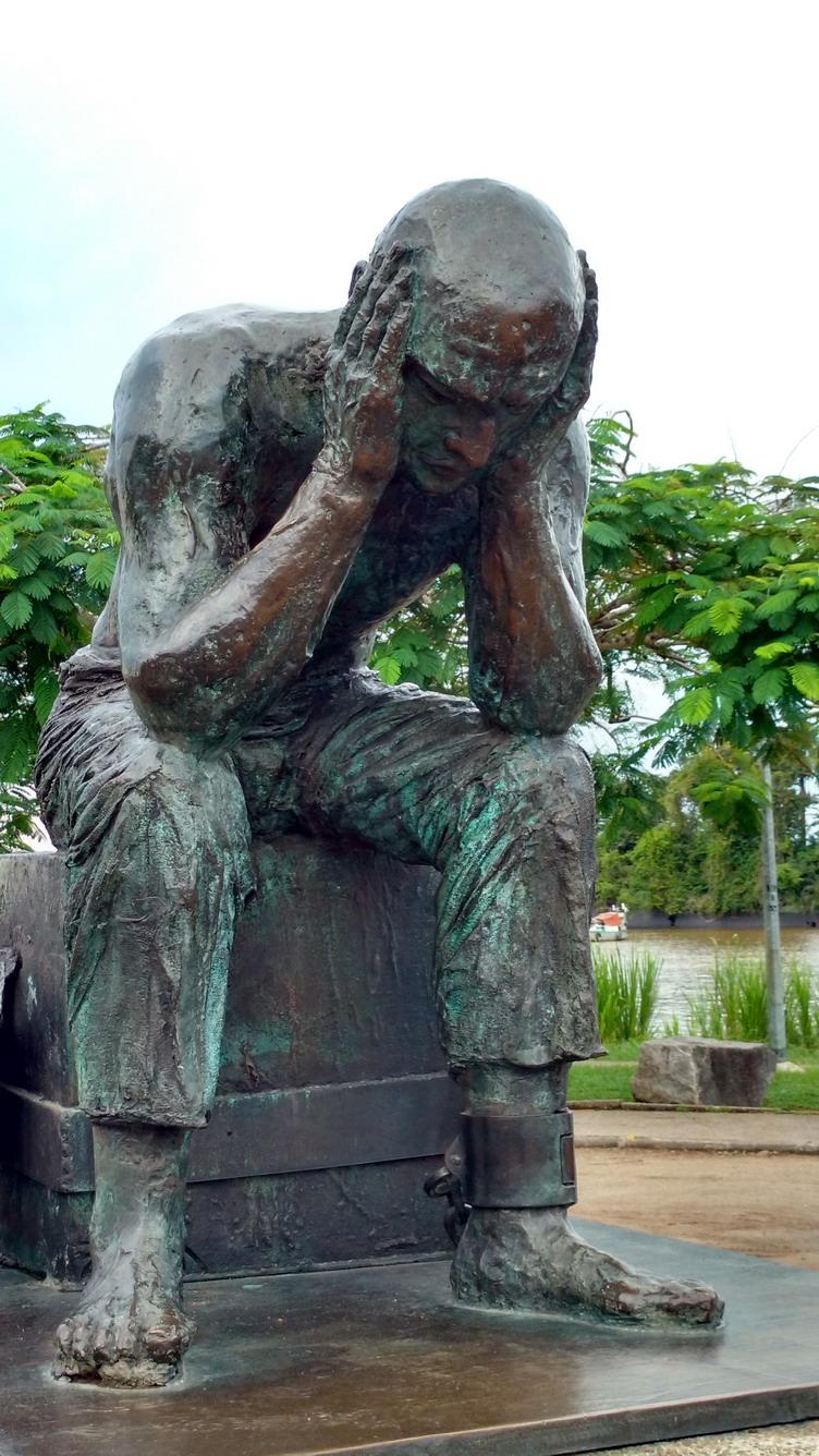 31. St Laurent du Maroni, monument à la mémoire des forçats