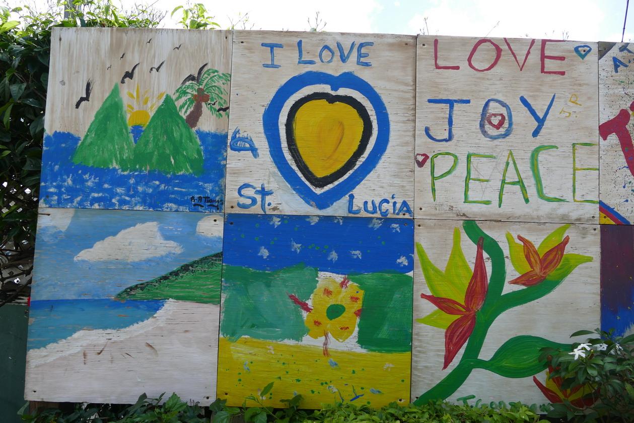 31. Ste Lucie, les écoliers promeuvent leur île