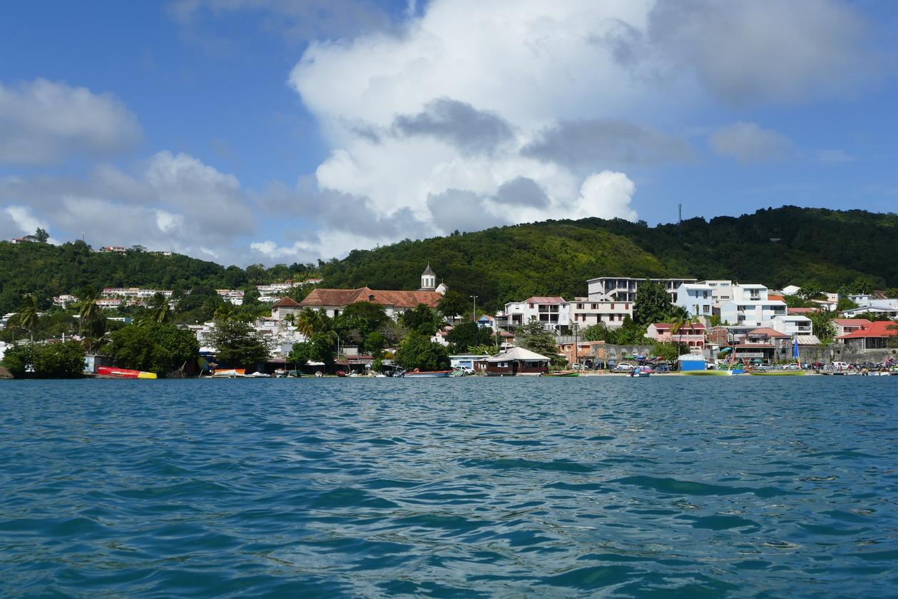 34. La Martinique, le bourg du Marin