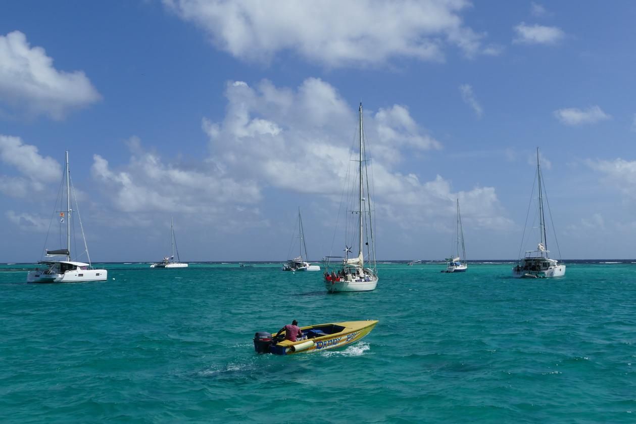 34. Mouillage des Tobago cays