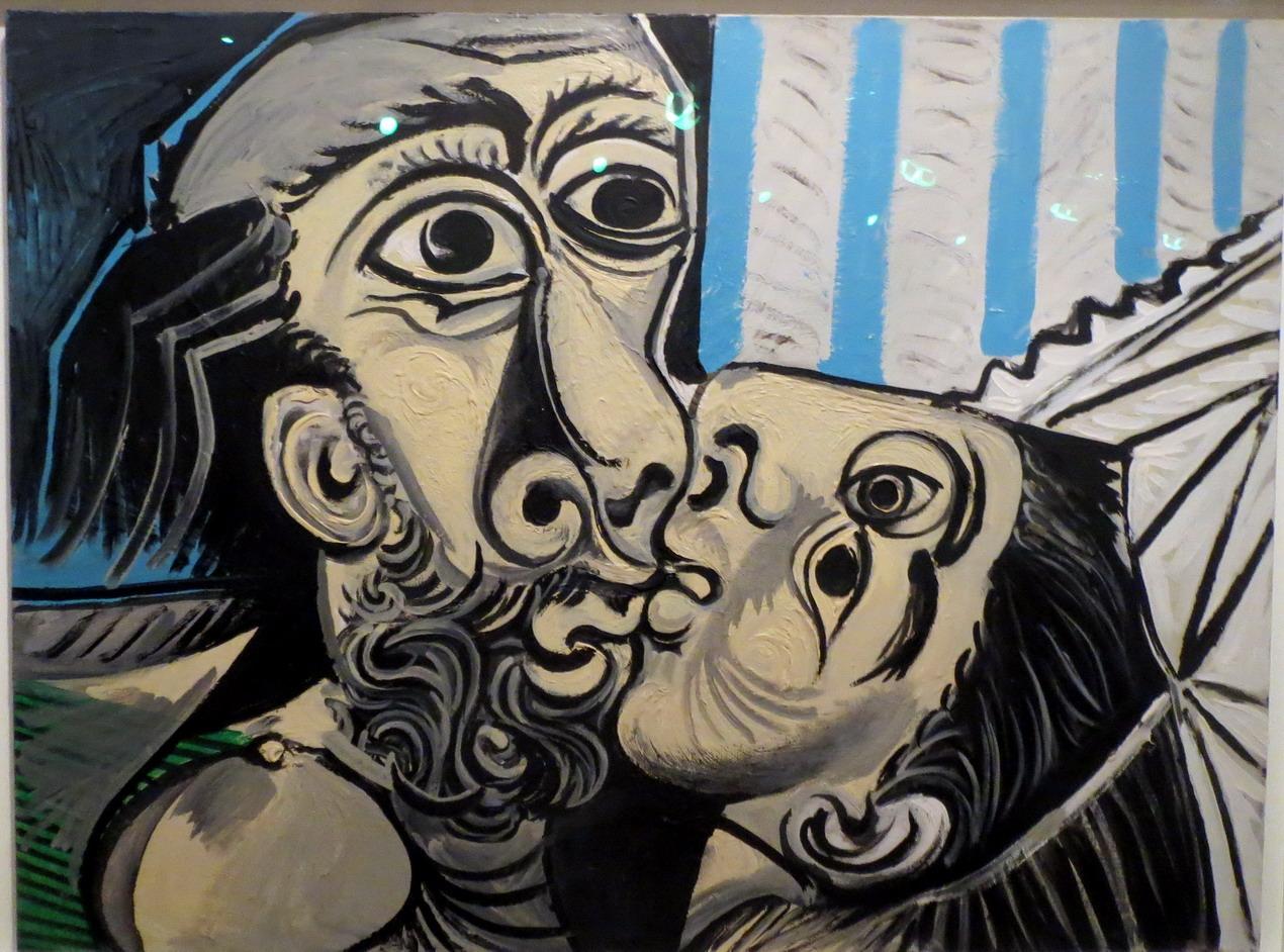 34. Picasso, expo à la Caixa cultural de Rio, le baiser