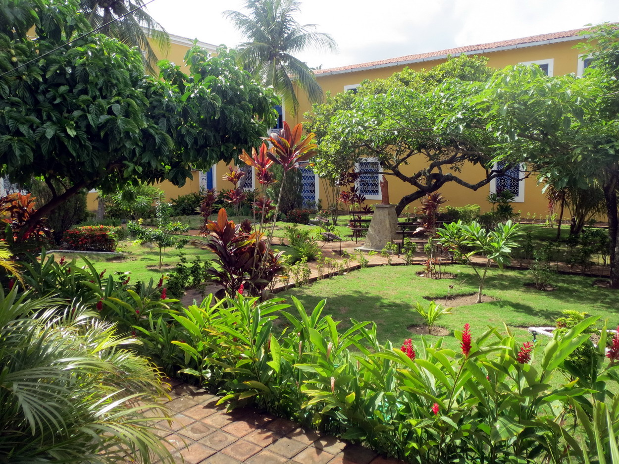 35. Joao Pessoa, jardin du couvent