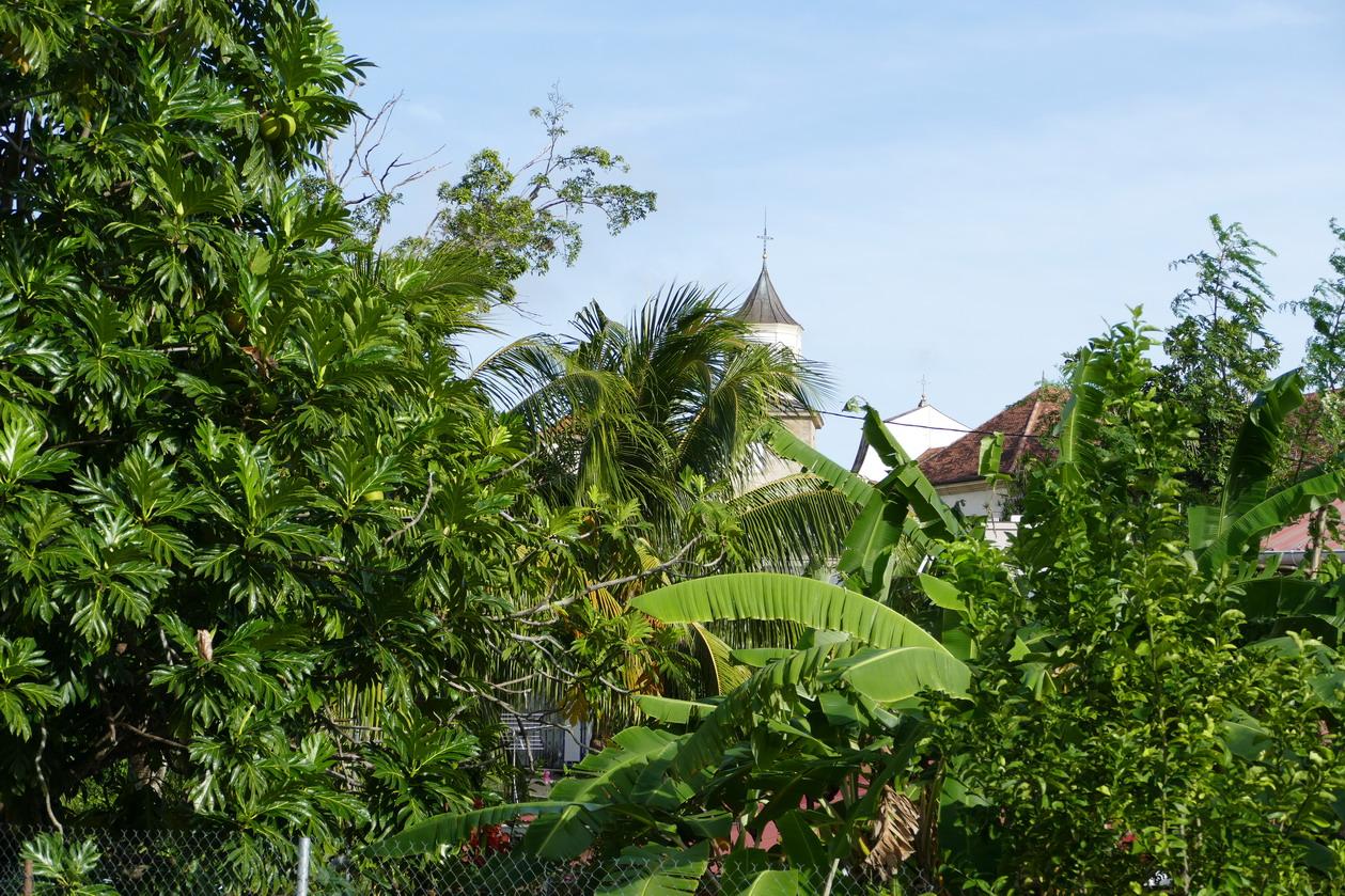 35. La Martinique, l'église du Marin