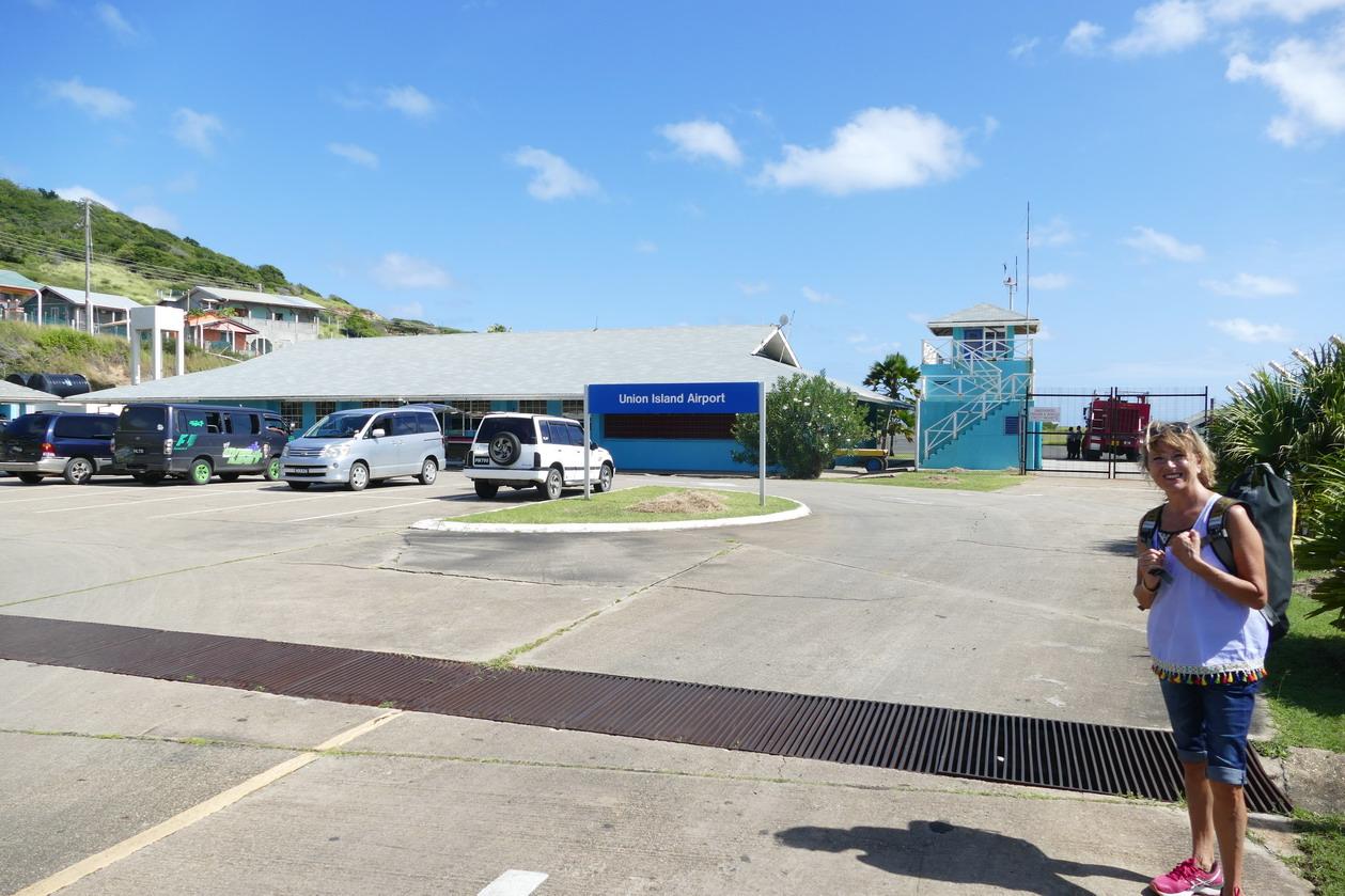 37. Union island, Clifton, le petit aéroport