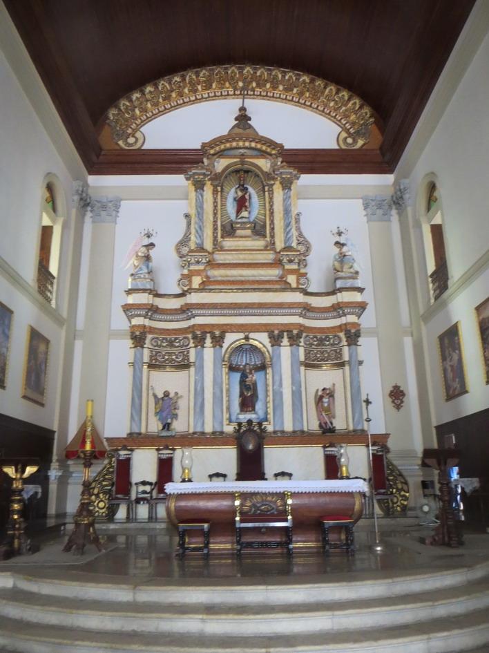 38. Joao Pessoa, l'autel de l'église Sao Frei Pedro Gonçalves