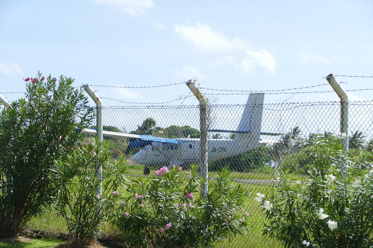 38. Union island, Clifton, le petit aéroport